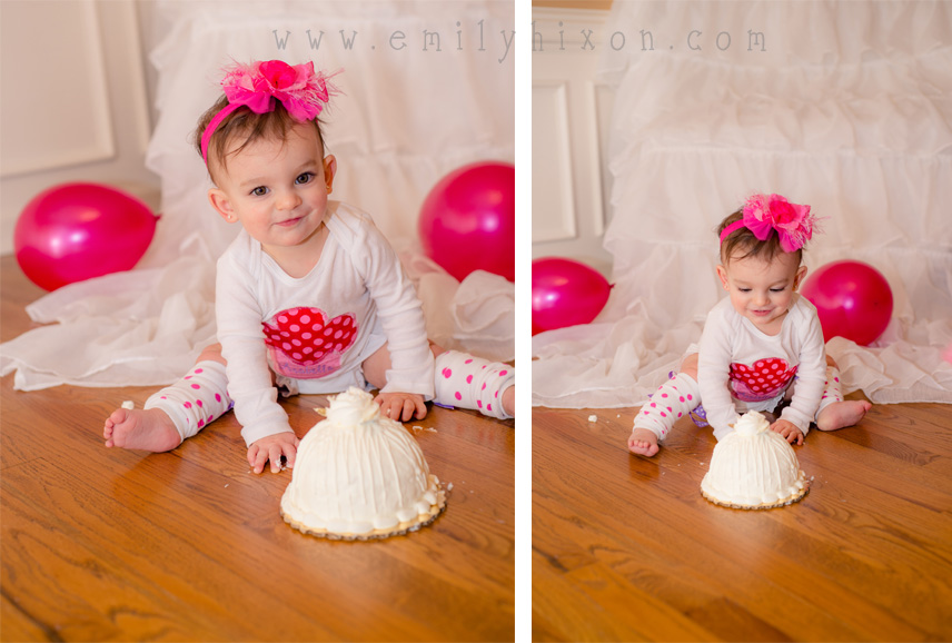 Pretty in Pink | Pittsburgh Baby Photographer – One Year Portrait Session | Emily Hixon Photography
